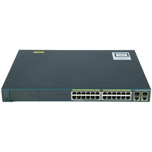 Cisco Catalyst 2960 Switch WS-C2960+24PC-L