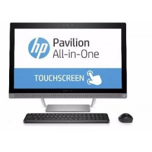 HP Pavilion All-in-One - 27-a240se Desktop PC (Intel Core i7-7700T 16GB RAM, 1TB HDD & 8GB SSD, Windows 10 Home)