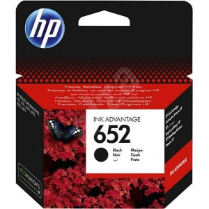 HP 652 Black Original Ink Advantage Cartridge (F6V25AE)