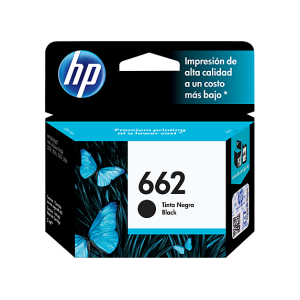 HP 662 Black Original Ink Advantage Cartridge (CZ103AL)