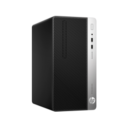 HP ProDesk 400 G4 Microtower PC (7th Gen Intel Core i5-7500 4GB RAM, 500GB HDD, Windows 10 Pro)