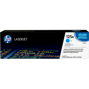 HP 125A Cyan Original LaserJet Toner Cartridge (CB541A)