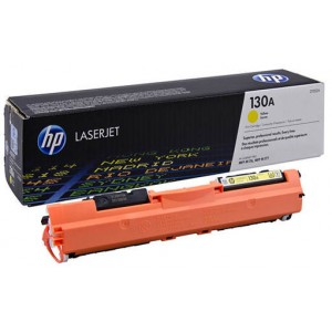 HP 130A Yellow Original LaserJet Toner Cartridge (CF352A)